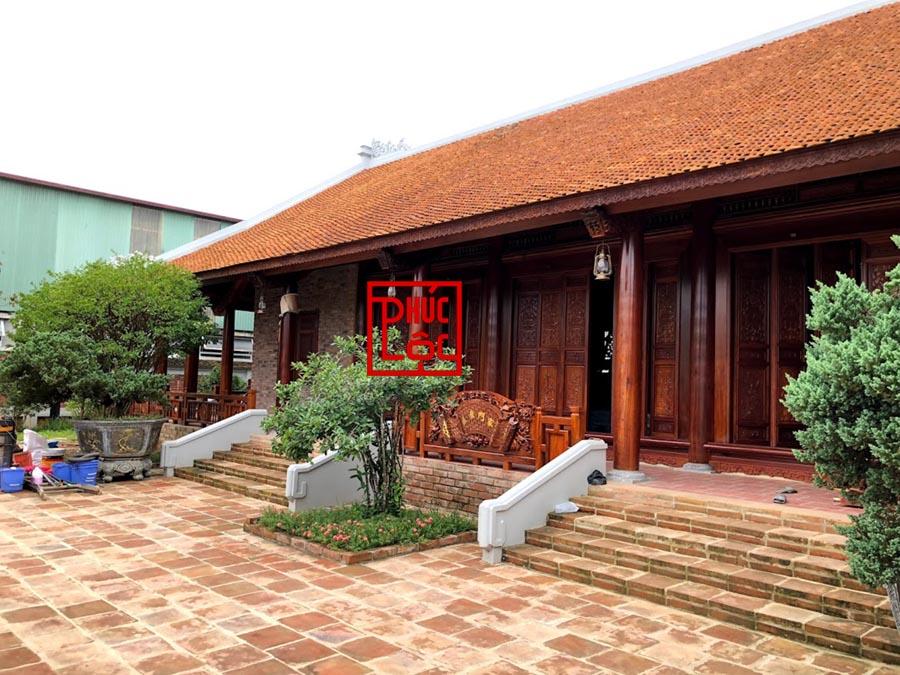 Nhà gỗ cổ truyền bắc bộ