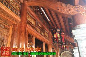 Kẻ hiên nhà gỗ lim