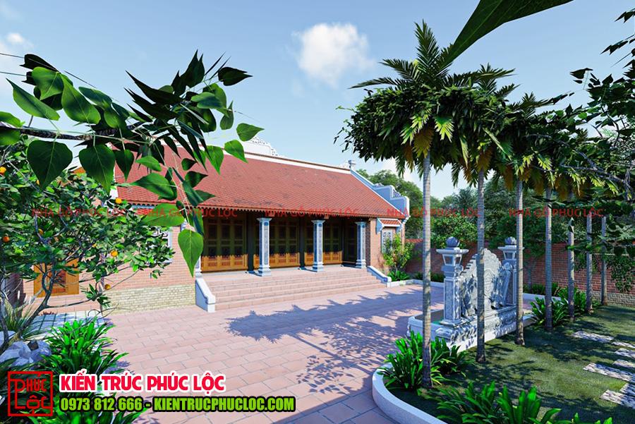 Tổng quan về mẫu thiết kế nhà gỗ 3 gian 2 chái